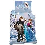 Disney Frozen Sven 043059biancheria da letto in cotone, 140x 200cm e 70x 90cm