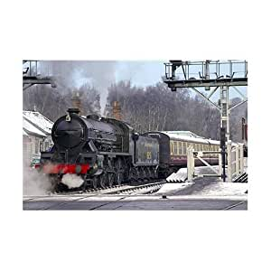 1000 Piece DeLuxe Jigsaw Puzzle - Getting Up Steam