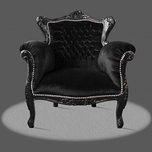 LouisXV Sillón barroco fauteuille estilo antiguo rococó AlCh0501SwSw