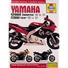 Yamaha YZF600R Thundercat and FZS600 Fazer Service and Repair Manual: 1996 to 2001 (Haynes Service and Repair Manuals)