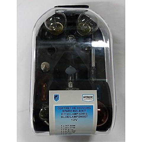 Coffret d'Ampoules de Secours de Rechange 12V H7 + H1 55W pour Citroen C4 Picasso- 894