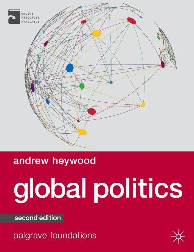 Portada del libro By Andrew Heywood Global Politics (Palgrave Foundations Series) (2nd edition)