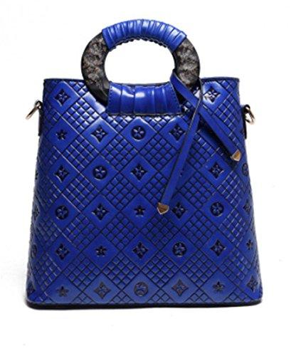 GBT High-End-bewegliche Handtasche Umhängetasche diagonal Wild Blue