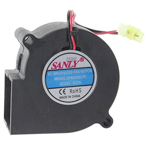 Dimplex SF6028SL(R) Electric Fire Fan Motor Unit (DC 24V) by Dimplex