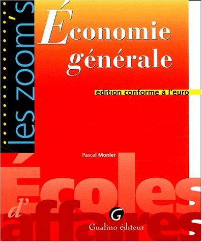 Zoom'S Economie Generale
