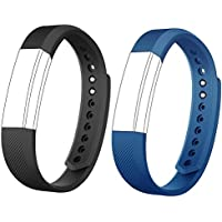 AndThere Replacement Straps Watch Band Adjustable Wristband for ID115HR or ID115 Fitness Tracker Step Tracker