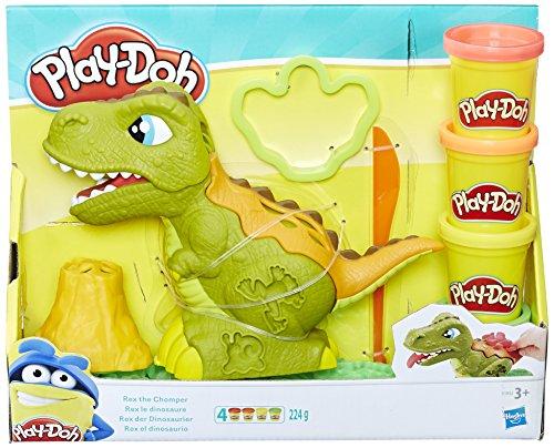 Hasbro play-doh e1952eu4rex il dinosauro, plastilina