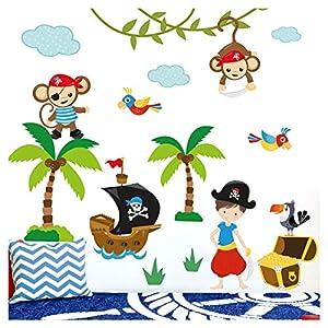 Wandsticker Kinderzimmer Pirat günstig online kaufen   Dein ...
