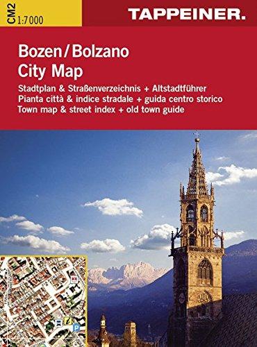 Stadtplan Bozen Citymap: Cartina Stradale Bolzano Citymap (Straßenkarte City Map) (Stadtplan City Map)