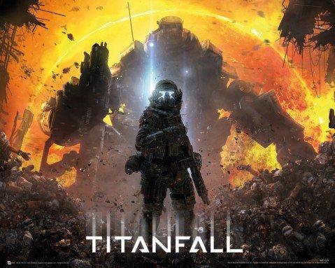 poster: Mini Poster Titanfall, Militia Pilot (50,8x 40,6cm)