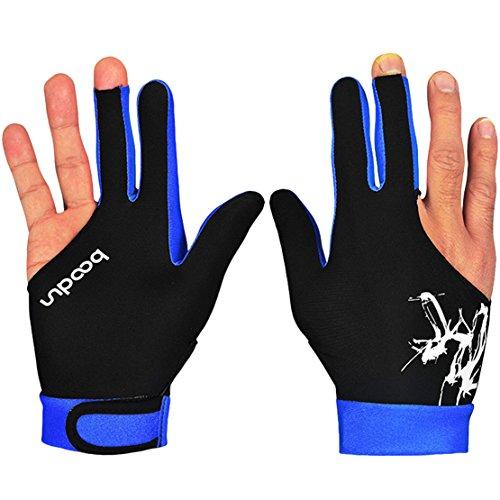 Billardhandschuh Snooker Shooters Handschuhe 3 Finger Handschuhe