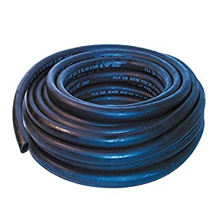 13mm ID Black 6 Metre Length Rubber Heater Hose - AutoSiliconeHoses