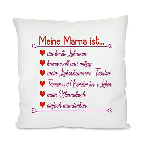 Kissen mit Motiv Modell: Meine Mama ist…