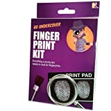 Fingerprint Kit / Toy - Everything a Young Spy Needs to Dust for Fingerprints!