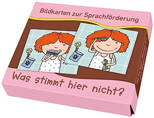 """""""Was stimmt hier nicht?"""" (Bildkarten zur Sprachförderung)"""