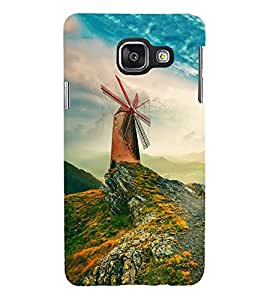 ifasho Designer Back Case Cover for Samsung Galaxy A5 (6) 2016 :: Samsung Galaxy A5 2016 Duos :: Samsung Galaxy A5 2016 A510F A510M A510Fd A5100 A510Y :: Samsung Galaxy A5 A510 2016 Edition (Hilly Hill Station Ladhak Hills )