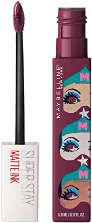 Maybelline New York Stay Matte Ink Liquid Lipstick x Ashley Longshore, Believer, 5g