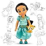Ufficiale Disney Aladdin 38 centimetri Jasmine Animator Toddler Doll con accessorio Raja