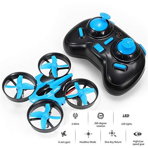 QUARKJK Mini RC Drone Quad Copter 2,4G 4CH 6-Achsen-Geschwindigkeit 3D Flip Headless-Modus RC Drone Spielzeug Geschenk RTF für Kinder Kinder,Blue (Rtf-mini-quad)
