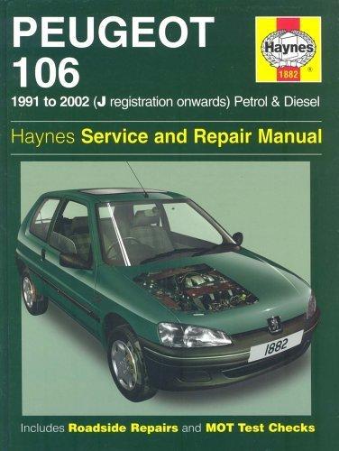 Peugeot 106 Service and Repair Manual (Haynes Service and Repair Manuals) by Mark Coombs, Steve Rendle (2002) Hardcover