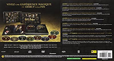 Harry Potter - l'Intégrale des 8 Films - Edition Prestige - Le monde des Sorciers de J.K. Rowling - Coffret DVD