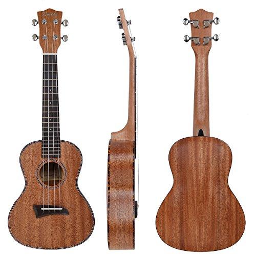 kmise-laminated-mahogany-concert-ukulele-23-inch-hawaii-guitar-rosewood-back-red-tortoise-binding