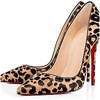 XM Scarpe Donna - Scarpe col tacco - Matrimonio / Casual / Serata e festa - Decolleté - A stiletto - Vernice / Crine di cavallo - 1 # / 2 # , 2#-us5.5 / eu36 / uk3.5 / cn35 , 2#-us5.5 / eu36 / uk3.5 / cn35