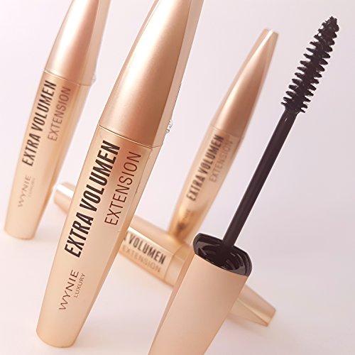 Luxus-Mascara, Wimperntusche für Wimpernverlängerungen geeignet - ölfrei