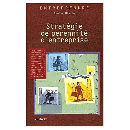 Stratégie de pérennité d'entreprise