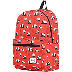 TRENDMAX Mochila Escolar con estampado moda | 42,5x29x13cm | para portátil 15 pulgadas | Pandas