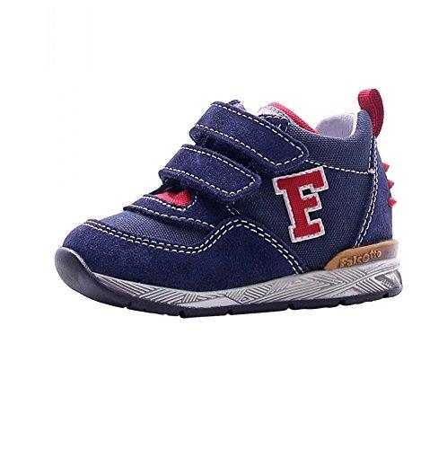 Falcotto scarpe bimbo unisex 1101 - Sneaker Falcotto by Naturino Danny VL Velour/Cor, Navy, Blu (18)