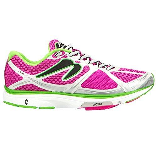 Newton Running Women's Kismet II Shoe, Scarpe Running Donna, Nero (Black/Pink), 37 EU