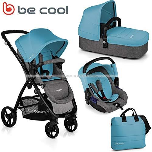Be cool jane trio slide 3 top plus be blue 2019 passeggino modulare