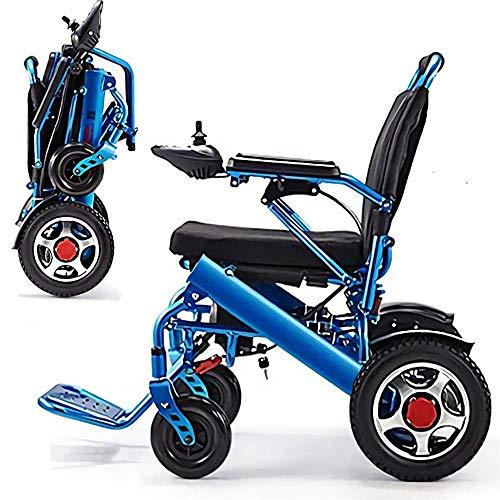 Ydq Leichte Aluminium-Klapp Elektro-Rollstuhl bequem und Nicht holprig, doppelt schützen Sie Ihre Familie mehr Ruhe -