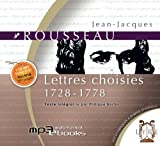 Les lettres choisies 1728-1778 (1 CD Mp3/PDF/ePUB/9h20)