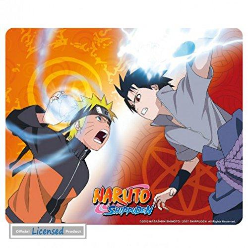 Naruto - Shippuden, Naruto Vs Sasuke Alfombrilla Para Ratón