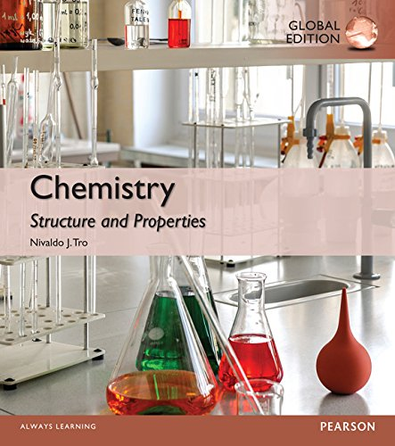 Chemistry: Structure and Properties with MasteringChemistry, Global Edition: Pack
