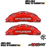 myrockshirt 4 x Frenos Freno Sillín Hyundai adhesivo, Auto tuning Pegatinas Pegatinas con kit