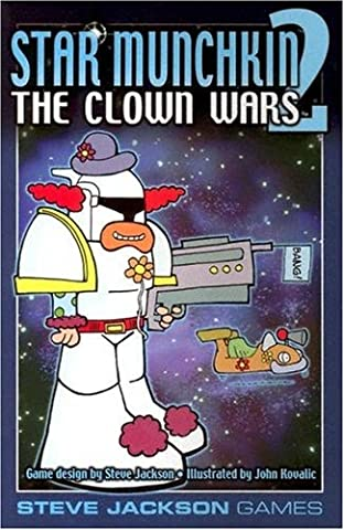Munchkin Extension - Star Munchkin 2: Clown