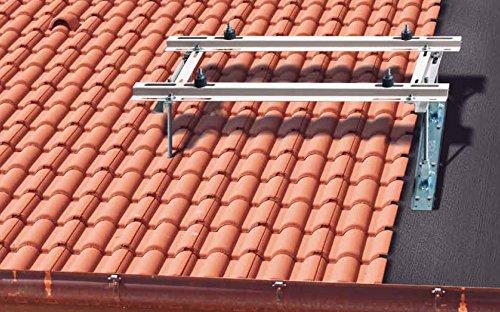 Sattel - Dachkonsole Profiausführung Klimageräte, Wärmepumpen / Aufschraubversion