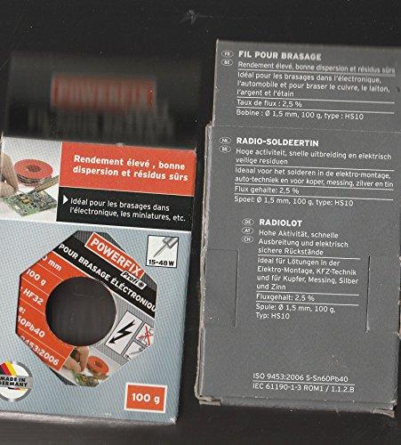 Hilo para soldadura soldar electrónica Miniatures 1mm 100G