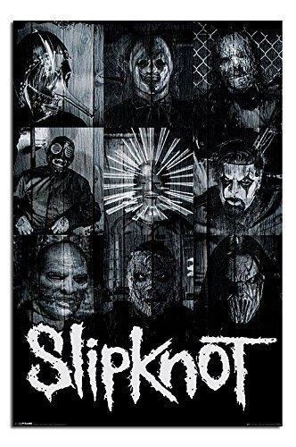Slipknot Maschere Ufficiale Poster - 91.5 x 61cms (91.4x61cm)