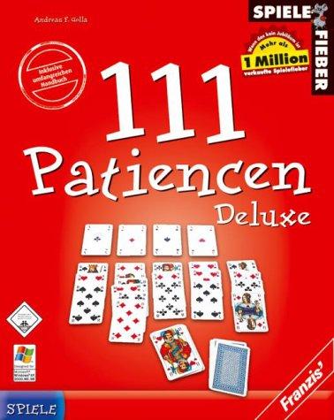 Spielefieber, CD-ROMs : 111 Patiencen Deluxe, 1 CD-ROM in Karton-Box Für Windows 95, 98, 98 SE, ME, XP. Z. Tl. Shareware