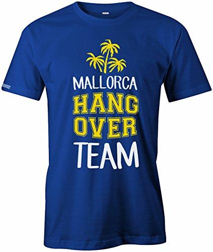 Mallorca Hangover Team Deluxe - Urlaub - Herren T-SHIRT Royalblau