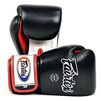 Fairtex BGV1 Adult Boxing Gloves (10oz, Black)