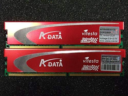 Gebraucht, A-Data Extreme Ed 2 GB (2x1GB) AD2800E001GOU 240pin gebraucht kaufen  Wird an jeden Ort in Deutschland