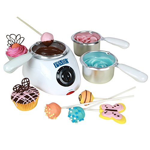 PME Electric Chocolate Melting Pot with 3 Pots Included Test