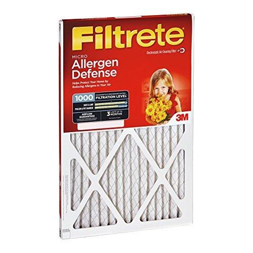 12x24x1, Filtrete Micro Allergen Air Filter, MERV 11, by 3m by Filtrete -