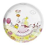 WMF Kindergeschirr Teller PRINZESSIN ANNELI Kinderteller Porzellan spülmaschinengeeignet farb- und lebensmittelecht