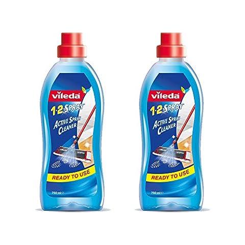 Vileda 1-2 Spray produkt od mopa, 2x 750 ml